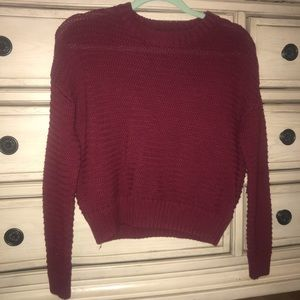 Rad cable knit sweater